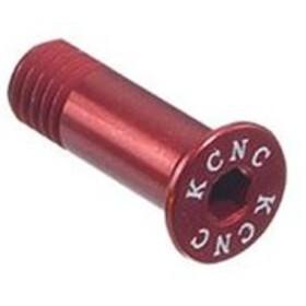 KCNC Jockey Wheel Bolts L12mm, red